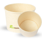 Bagasse Paper Bowls Lined with PLA – Ecomaniac