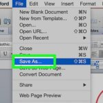 How to Save a Word Document as JPEG File